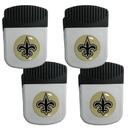 Siskiyou Buckle New Orleans Saints Clip Magnet with Bottle Opener, 4 pack, 4FRMC150