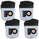 Siskiyou Buckle Philadelphia Flyers Chip Clip Magnet with Bottle Opener, 4 pack, 4HPMC65