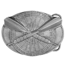Siskiyou Buckle Darts Buckle Antiqued Belt Buckle, A150