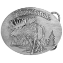 Siskiyou Buckle Yellowstone Antiqued Belt Buckle, A47
