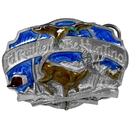 Siskiyou Buckle A50E I'd Rather Be Hunting Enameled Belt Buckle