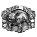 Siskiyou Buckle A8 Bulldog Spirit Antiqued Belt Buckle