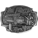 Siskiyou Buckle AG13 Fire Fighter  Antiqued Belt Buckle