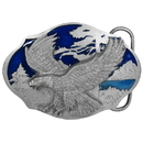 Siskiyou Buckle AG33E Flying Eagle - Enameled Belt Buckle