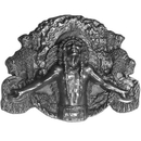 Siskiyou Buckle BD1 Great Spirit Antiqued Belt Buckle