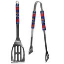 Siskiyou Buckle Kansas Jayhawks 2 pc Steel BBQ Tool Set, C2BQ21