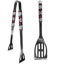 Siskiyou Buckle Mississippi St. Bulldogs 2 pc Steel BBQ Tool Set, C2BQ45
