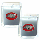 Siskiyou Buckle C2CD12 Arkansas Razorbacks Scented Candle Set