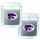 Siskiyou Buckle C2CD15 Kansas St. Wildcats Scented Candle Set