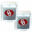 Siskiyou Buckle C2CD48 Oklahoma Sooners Scented Candle Set
