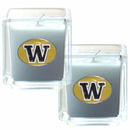 Siskiyou Buckle C2CD49 Washington Huskies Scented Candle Set