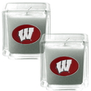 Siskiyou Buckle C2CD51 Wisconsin Badgers Scented Candle Set