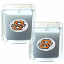 Siskiyou Buckle C2CD58 Oklahoma State Cowboys Scented Candle Set