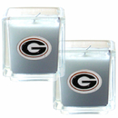Siskiyou Buckle C2CD5 Georgia Bulldogs Scented Candle Set