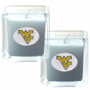 Siskiyou Buckle C2CD60 W. Virginia Mountaineers Scented Candle Set