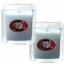 Siskiyou Buckle C2CD63 S. Carolina Gamecocks Scented Candle Set