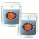 Siskiyou Buckle C2CD69 Clemson Tigers Scented Candle Set