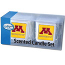 Siskiyou Buckle C2CD77 Minnesota Golden Gophers Scented Candle Set