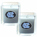 Siskiyou Buckle C2CD9 N. Carolina Tar Heels Scented Candle Set