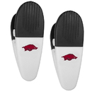Siskiyou Buckle Arkansas Razorbacks Mini Chip Clip Magnets, 2 pk, C2CM12