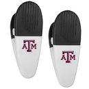 Siskiyou Buckle Texas A & M Aggies Mini Chip Clip Magnets, 2 pk, C2CM26