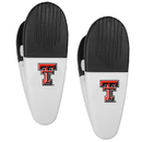 Siskiyou Buckle Texas Tech Raiders Mini Chip Clip Magnets, 2 pk, C2CM30