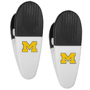 Siskiyou Buckle Michigan Wolverines Mini Chip Clip Magnets, 2 pk, C2CM36