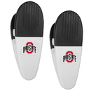 Siskiyou Buckle Ohio St. Buckeyes Mini Chip Clip Magnets, 2 pk, C2CM38