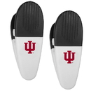 Siskiyou Buckle Indiana Hoosiers Mini Chip Clip Magnets, 2 pk, C2CM39