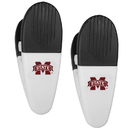 Siskiyou Buckle Mississippi St. Bulldogs Mini Chip Clip Magnets, 2 pk, C2CM45