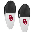 Siskiyou Buckle Oklahoma Sooners Mini Chip Clip Magnets, 2 pk, C2CM48