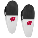 Siskiyou Buckle Wisconsin Badgers Mini Chip Clip Magnets, 2 pk, C2CM51
