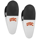 Siskiyou Buckle USC Trojans Mini Chip Clip Magnets, 2 pk, C2CM53