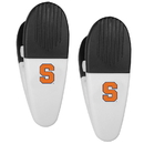 Siskiyou Buckle Syracuse Orange Mini Chip Clip Magnets, 2 pk, C2CM62