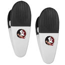 Siskiyou Buckle Florida St. Seminoles Mini Chip Clip Magnets, 2 pk, C2CM7