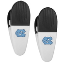 Siskiyou Buckle N. Carolina Tar Heels Mini Chip Clip Magnets, 2 pk, C2CM9