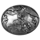 Siskiyou Buckle C2 End of the Trail  Antiqued Belt Buckle