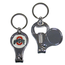 Siskiyou Buckle C3KC38 Ohio St. Buckeyes Nail Care/Bottle Opener Key Chain