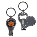 Siskiyou Buckle C3KC42 Auburn Tigers Nail Care/Bottle Opener Key Chain