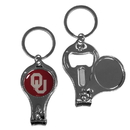 Siskiyou Buckle Oklahoma Sooners Nail Care/Bottle Opener Key Chain, C3KC48