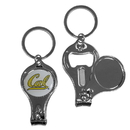 Siskiyou Buckle C3KC56 Cal Berkeley Bears Nail Care/Bottle Opener Key Chain