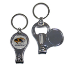 Siskiyou Buckle C3KC67 Missouri Tigers Nail Care/Bottle Opener Key Chain