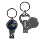 Siskiyou Buckle C3KC74 Montana St. Bobcats Nail Care/Bottle Opener Key Chain