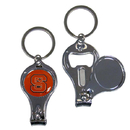 Siskiyou Buckle C3KC79 N. Carolina Tar Heels Nail Care/Bottle Opener Key Chain
