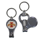 Siskiyou Buckle C3KC83 Iowa St. Cyclones Nail Care/Bottle Opener Key Chain