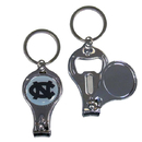 Siskiyou Buckle C3KC9 N. Carolina Tar Heels Nail Care/Bottle Opener Key Chain