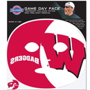 Siskiyou Buckle C4GFD51 Wisconsin Badgers Set of 4 Game Day Faces