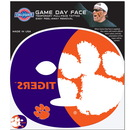 Siskiyou Buckle C4GFD69 Clemson Tigers Set of 4 Game Day Faces