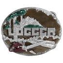 Siskiyou Buckle C89E Logger 3D Enameled Belt Buckle