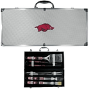 Siskiyou Buckle Arkansas Razorbacks 8 pc Tailgater BBQ Set, C8BQ12